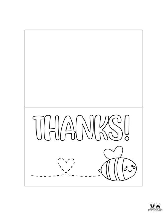 17+ Printable Thank You Cards - FREE  Printabulls