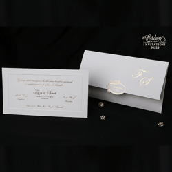Erdem Invitation Card 50528