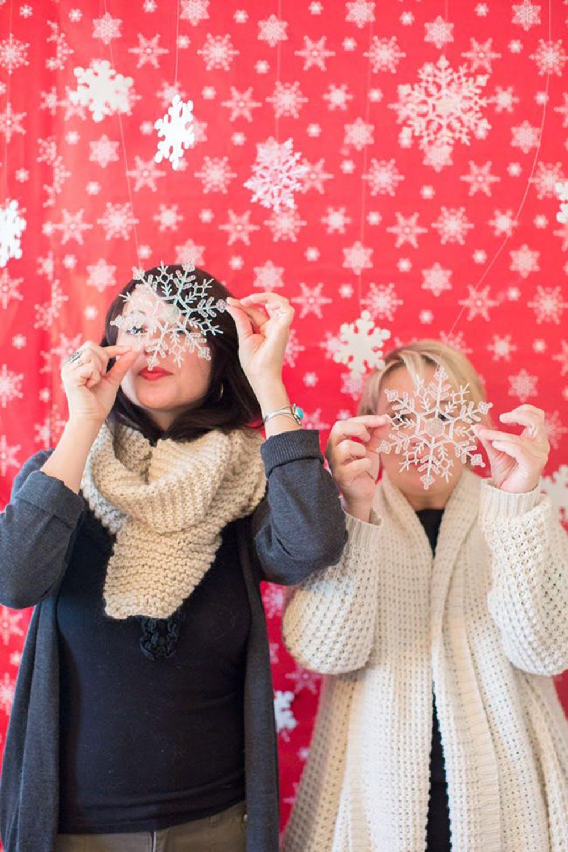 Ý tưởng trang trí tiệc giáng sinh, tiệc noel với dịch vụ chụp ảnh Printaphy Photobooth