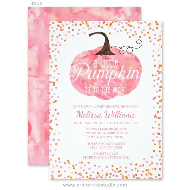 Custom Elephant Baby Shower Invitations