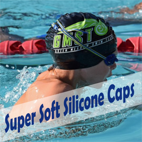 super soft silicone swimming caps