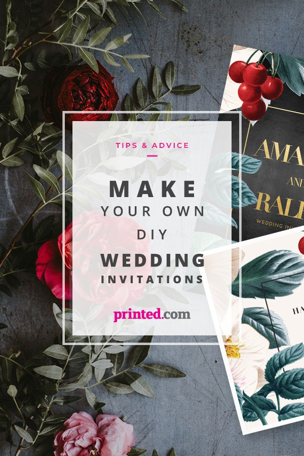 How To Design Your Own Wedding Invites Printed Com