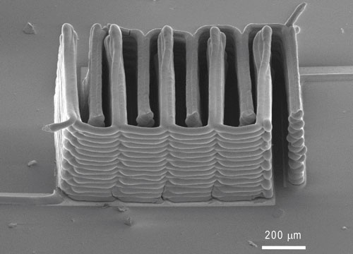 Printing microbatteries the size of a grain of sand