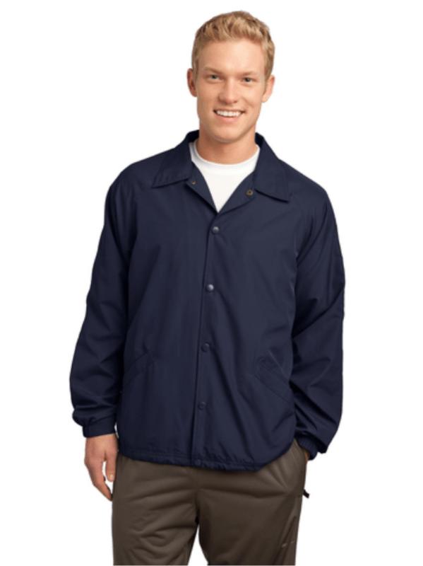 coach jacket, sideline, police