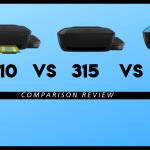 HP 310 VS 315 VS 319 Printer Review
