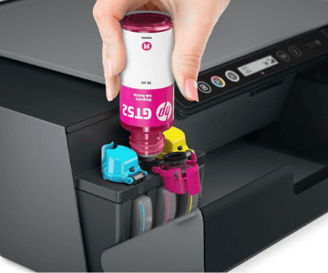 HP 530 vs 515 printer ink filling