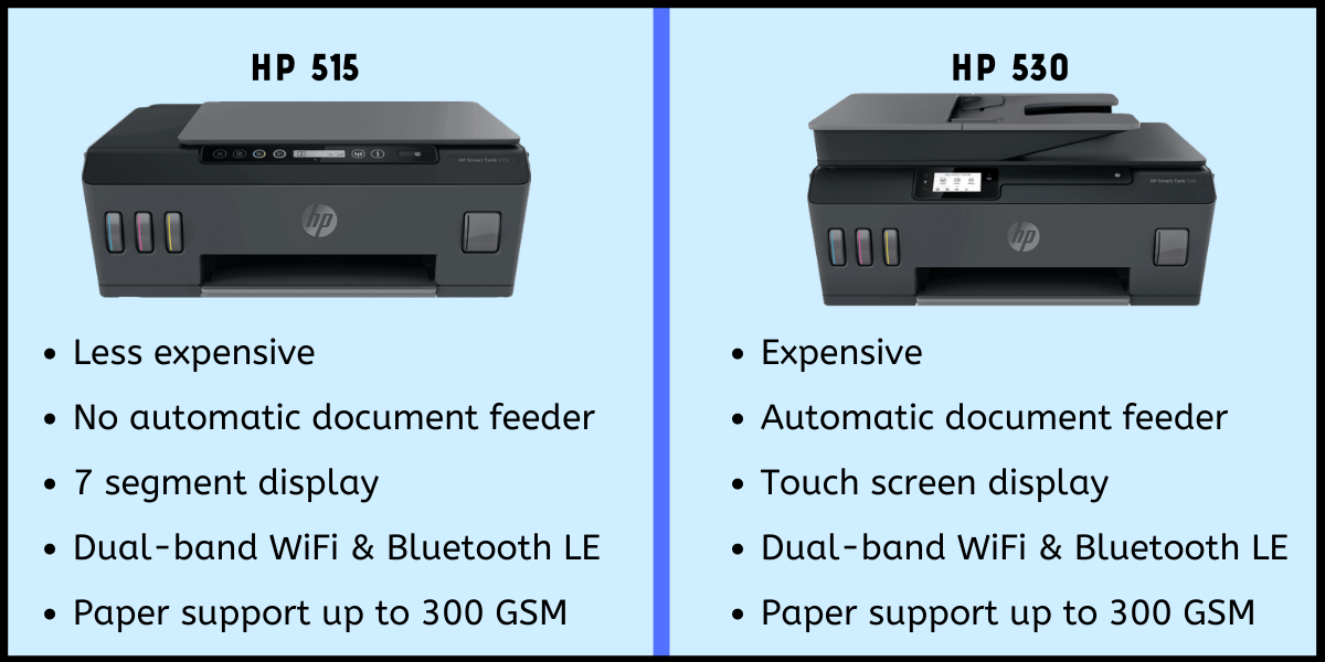 hp 515 vs 530 comparison