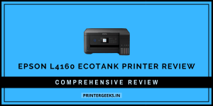 Epson L4160 Printer Review