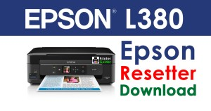 Epson L380 Resetter Adjustment Program
