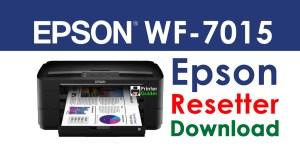 Epson WorkForce WF-7015 Resetter Adjustment Program Download