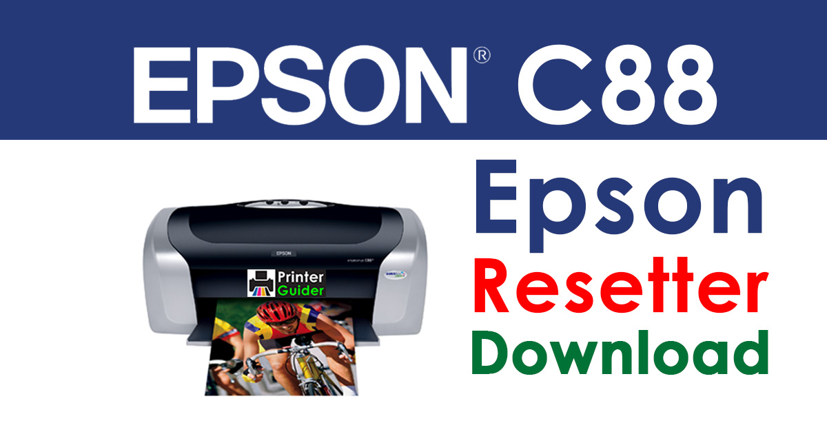 Epson Stylus C88 Resetter Adjustment Program Free Download