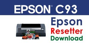 Epson Stylus C93 Resetter Adjustment Program Free Download