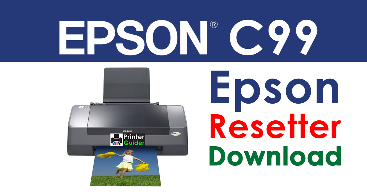 Epson Stylus C99 Resetter Adjustment Program Free Download