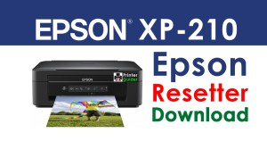 Epson XP-210 Resetter Adjustment Program Free Download