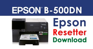 Epson B-500DN Resetter Adjustment Program Free Download