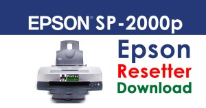 Epson Stylus Photo 2000p Resetter Adjustment Program Free Download