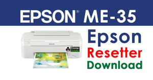Epson ME 35 Resetter Adjustment Program Free Download