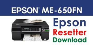 Epson ME Office 650FN Resetter Adjustment Program Free Download