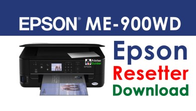 Photo of Epson ME Office 900WD Resetter Adjustment Program Free Download