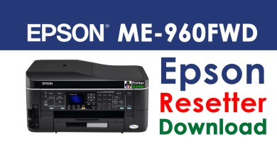 Photo of Epson ME Office 960FWD Resetter Adjustment Program Free Download