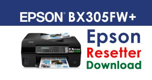 Epson Stylus Office BX305FW Plus Resetter Adjustment Program Free Download