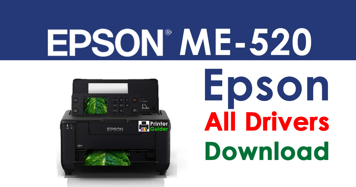 Epson ME Office 520 Printer driver free download