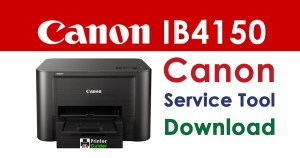 Canon Maxify IB4150 Resetter Service Tool Download