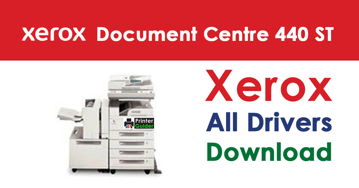 Xerox Document Centre 440 ST Driver Download