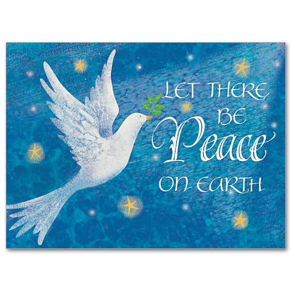 Let There Be Peace On Earth Christmas Spirit Card