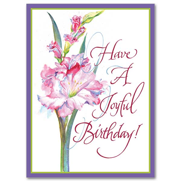 Have A Joyful Birthday Birthday Card