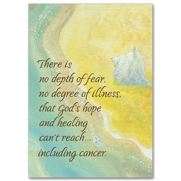 There Is No Depth Of Fear No Degree Of Illness Courage