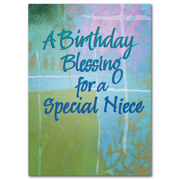 A Birthday Blessing For A Special Niece Family Blessings