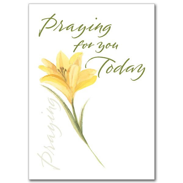 Praying Praying For You Card