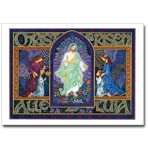 Christ Is Risen Alleluia Easter Card
