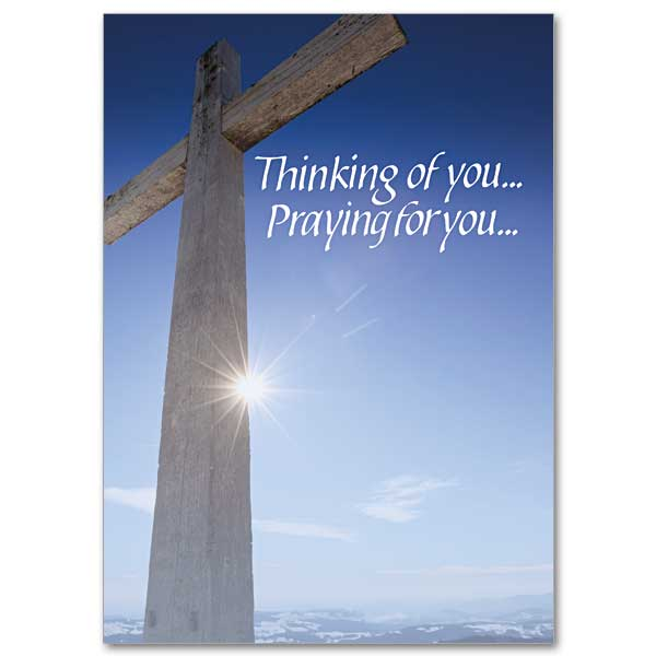 Thanking God For The Blessing You Are Thinking Of You Card