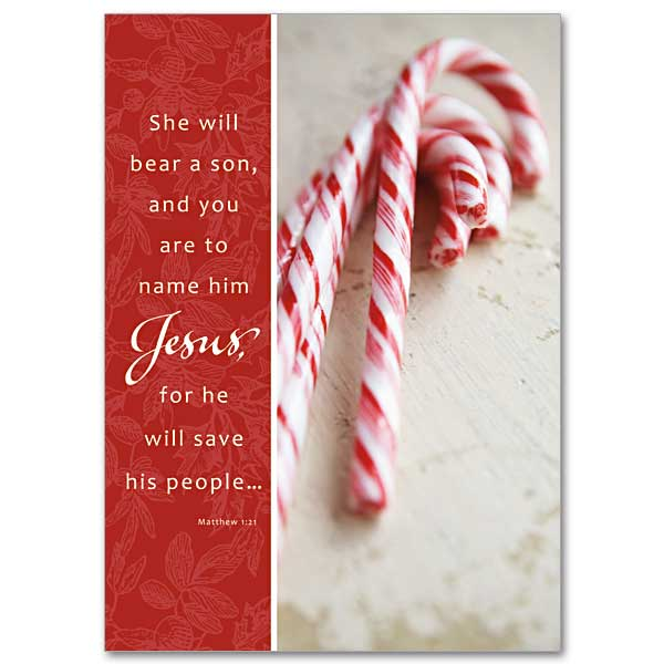 Legend Of The Candy Cane Miracle Of Christmas Card