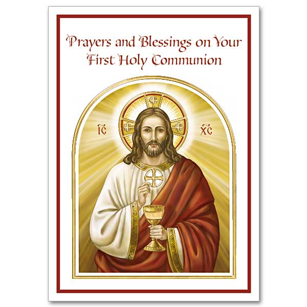 Prayers And Blessings On Your First Holy Communion First