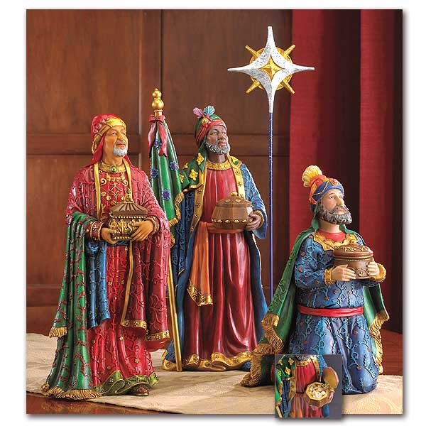 Three Wise Men Following The Christmas Star The Real Life