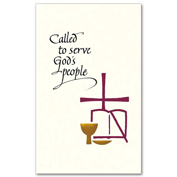Called To Serve Gods People Ordination Invitations