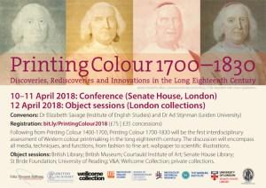 Printing Colour 1700–1830 flyer