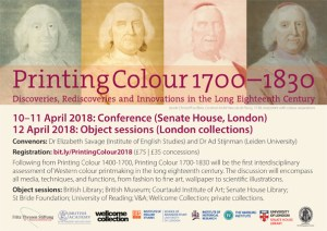 Printing Colour 1700–1830 flyer