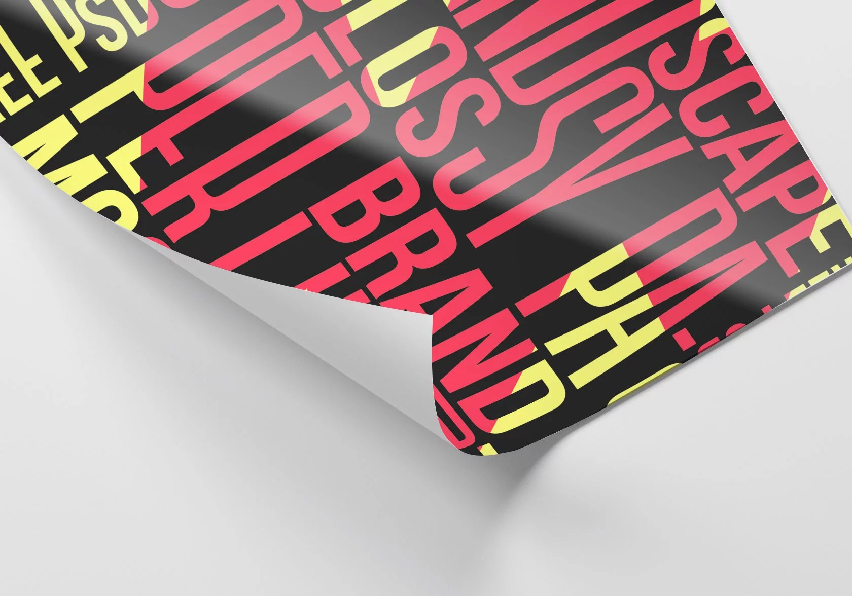 posters with glossy uv coating