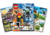 Three pages from Lego Life magazine