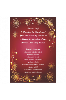 Business Invitation Cards Custom Corporate Invitation