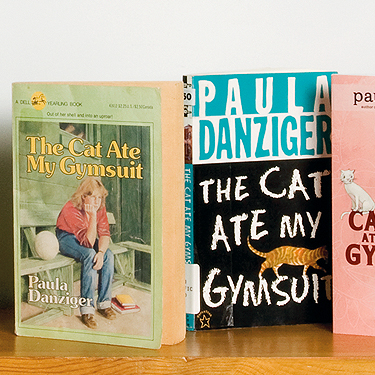 The cat ate my gymsuit - Books