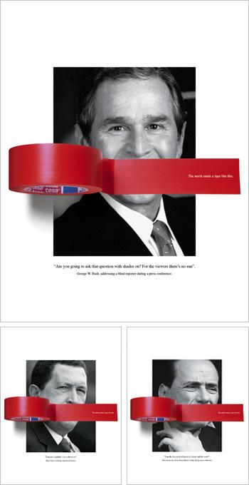 Thumbnail for George W. Bush, advertising star