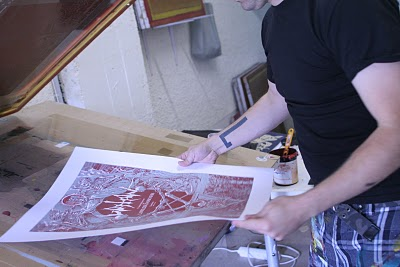 printing the poster