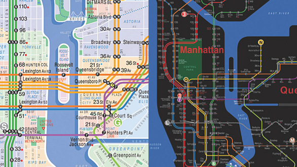 Thumbnail for Today's Obsession: Design Process of an NYC Subway Map