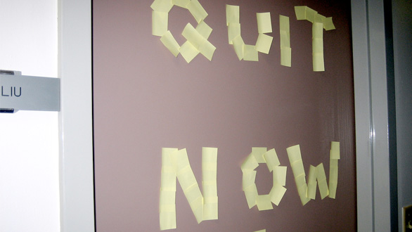 Thumbnail for Today's Obsession: Quitting