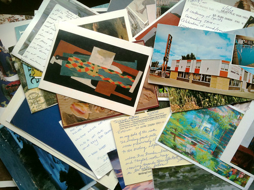 Poetry Postcards from the Past 3 Years